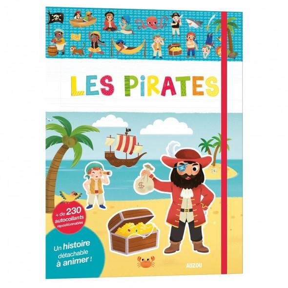Mes tout premiers auto-collants - Les pirates