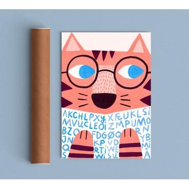 Affiche - Reading Tiger