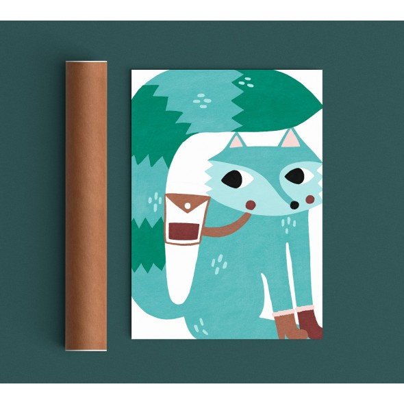 Affiche - Field Trip Fox
