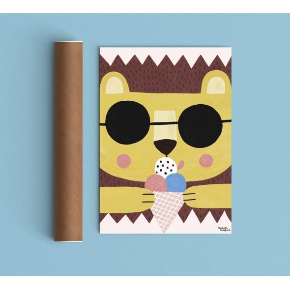 Affiche - Summer Lion