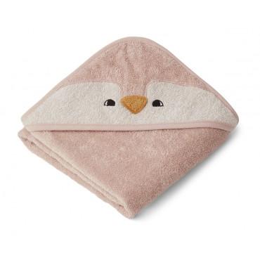 Sortie de bain Albert - Pingouin (rose)