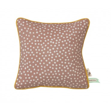 Coussin Pois - Rose