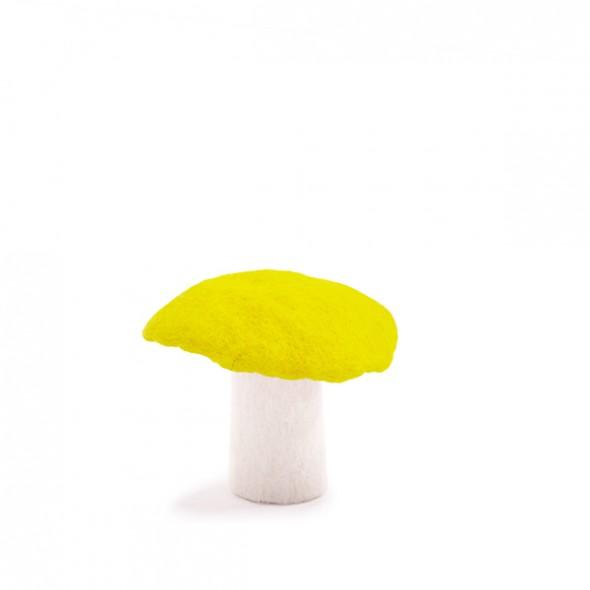 Champignon en feutre - Fleur de soufre (L)