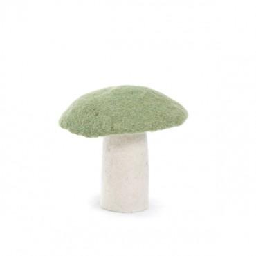 Champignon en feutre - Vert tendre (L)