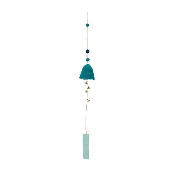 Suspension cloche - Turquoise pastel
