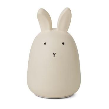 Veilleuse en silicone Winston - Rabbit (crème)