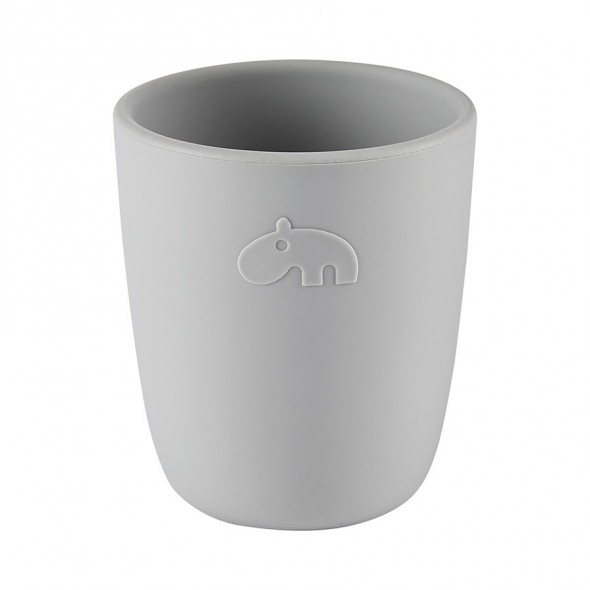 Mini mug en silicone - Deer friends, grey