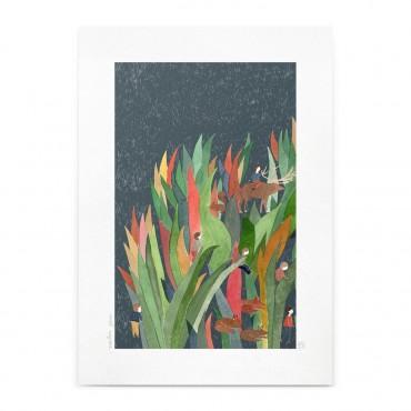 Affiche - Les Herbes (A4)