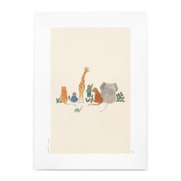 Affiche - Animaux (A4)
