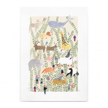 Affiche - Jungle (A4)