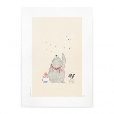Affiche - Les étoiles (A4)