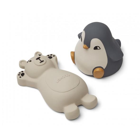 Set de 2 jouets de bain Knud - Blue