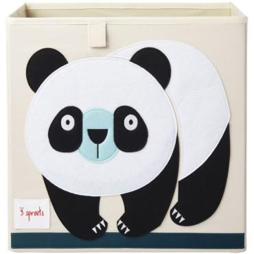 Cube de rangement Panda
