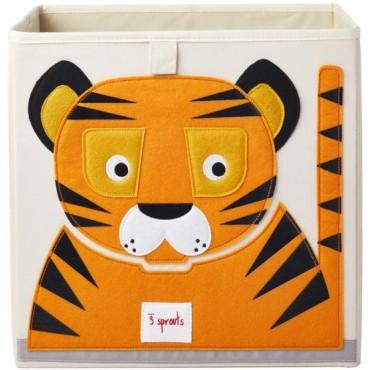 Cube de rangement Tigre