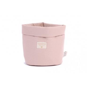 Panier Panda - Misty pink