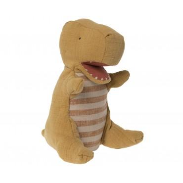 Marionnette Dinosaure - Ocre