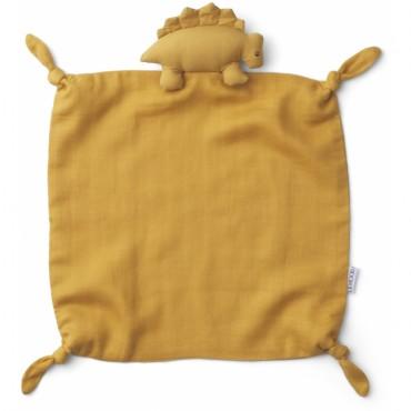 Doudou Agnete - Dino (yellow mellow)