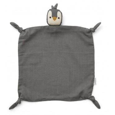 Doudou Agnete - Penguin (stone grey)