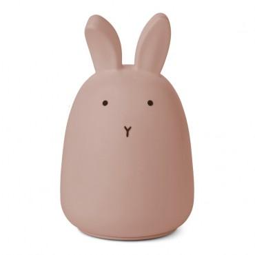 Veilleuse en silicone Winston - Rabbit (dark rose)