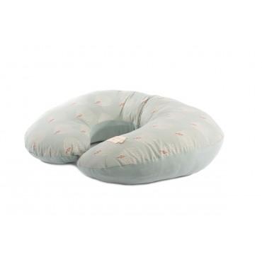 Coussin d'allaitement Sunrise - White Gatsby / Antique green