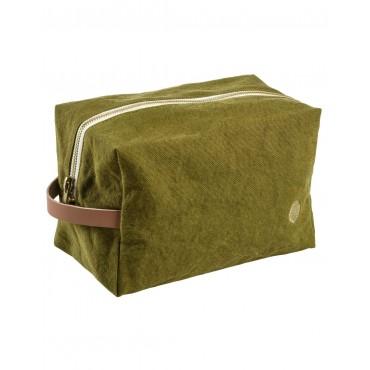 Trousse de toilette cube - Lichen (GM)