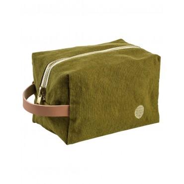 Trousse de toilette cube - Lichen (PM)