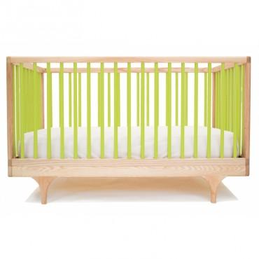 Lit bébé évolutif Caravan - Vert anis
