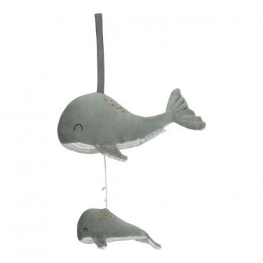 Boite à musique Baleine Ocean - Mint