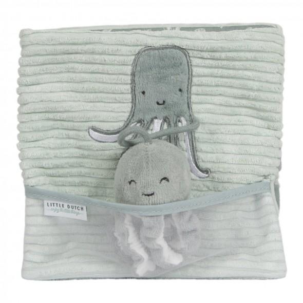 Livre d'activité en tissu Ocean - Mint