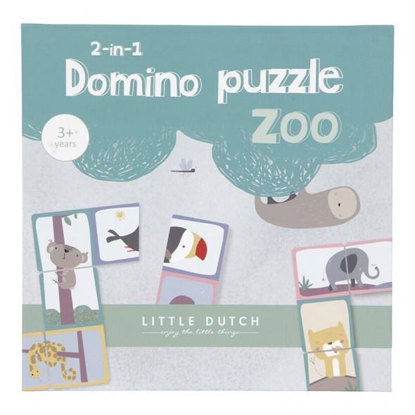Puzzle dominos - Zoo