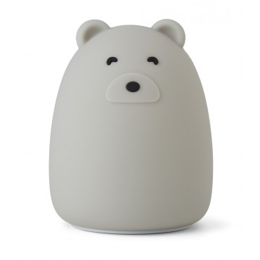 Veilleuse en silicone Winston - Mr Bear (dove blue)