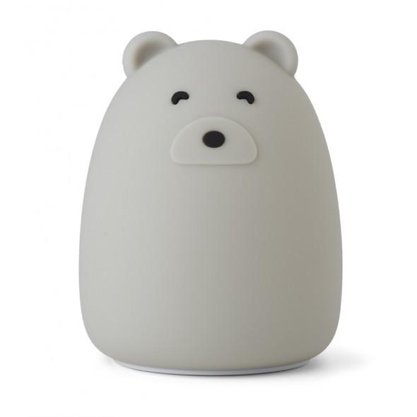 Veilleuse en silicone Winston - Mr Bear (dove blue)