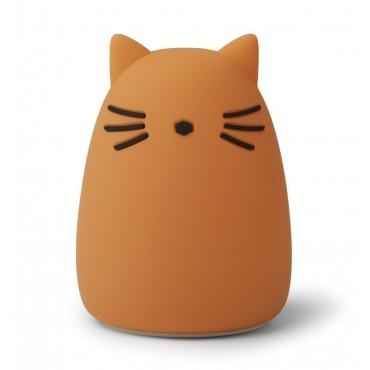 Veilleuse en silicone Winston - Cat (mustard)