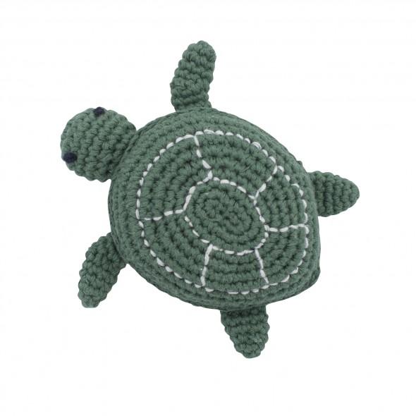 Hochet en crochet - Triton la tortue