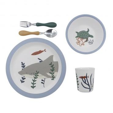 Set de vaisselle 5 pièces - Seven seas