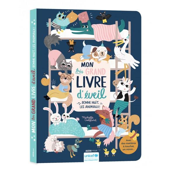 Mon très grand livre d'éveil - Bonne nuit les animaux !
