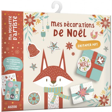 Mes décorations de Noël en paper art
