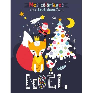 Mes coloriages tout doux de Noël