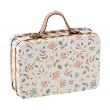 Petite valise en métal - Merle light