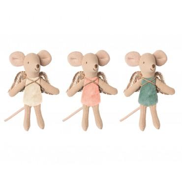 3 fées souris dans leur boite