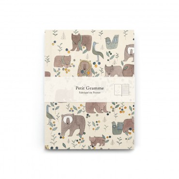 Carnet poche - Ourses