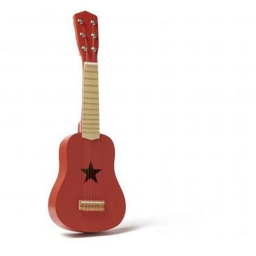 Guitare en bois - Brique