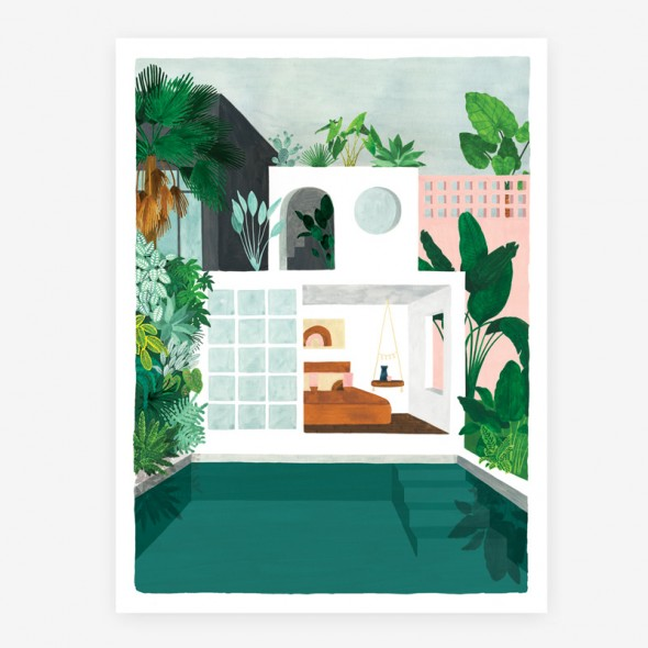 Affiche - Guesthouse