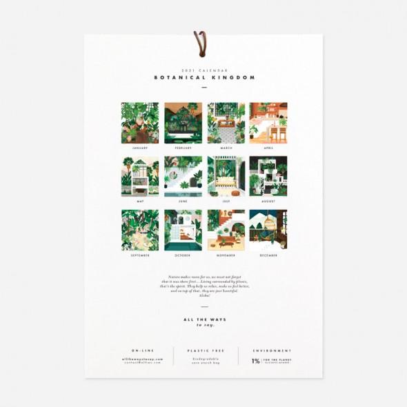 Calendrier 2020 - Botanical Kingdom