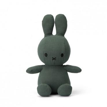 Peluche Miffy en mousseline de coton - Kaki (23 cm)