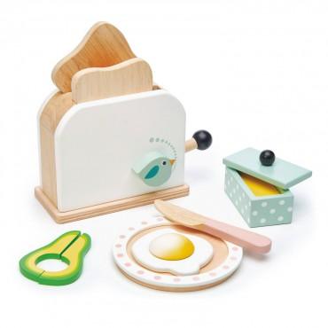 Set toaster pour petit déjeuner