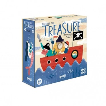 Puzzle - Discover the treasure (40 pièces)