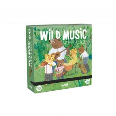 Puzzle - Wild music (36 pièces)