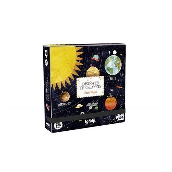 Puzzle - Pocket planets (100 pièces)