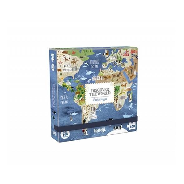 Puzzle - Pocket world (100 pièces)